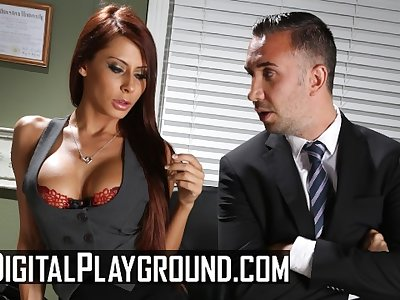 Digital Playground - Big tit Madison Ivy likes it rough in the office