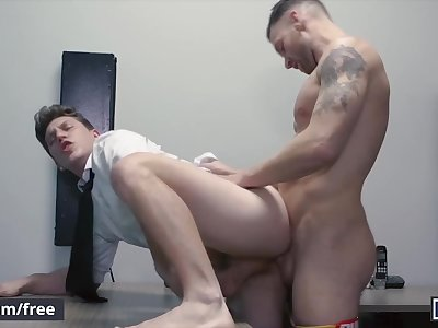 men com - naughty office boy gets ass fucked by boss - Paul Canon, kit cohe