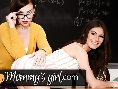 My Stepmom is also My Teacher & I'm a Hot Virgin 4 Her- MommysGirl