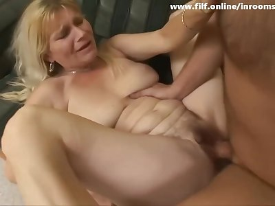 Sexy Step Mom Courtney Fucks Son