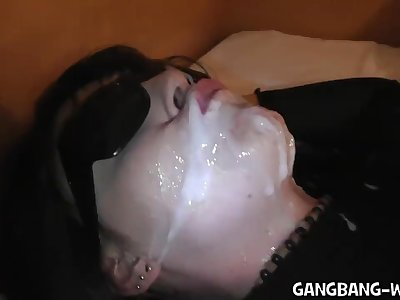 Gang-fuck and Pee Soiree at the Motel Room