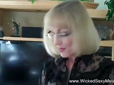 Smiling And Happy Amateur Granny Fuck-fest