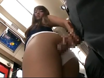 Hot Japanese Teenage Fucked On The Bus