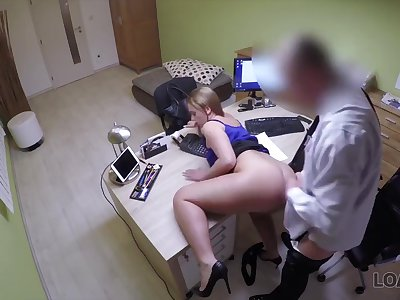 LOAN4K. Sex for cash gives cutie last opportunity of finishing college