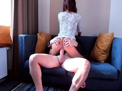 Unexperienced Teenage Bi-atch RIDE ON MY BIG COCK SO FAST